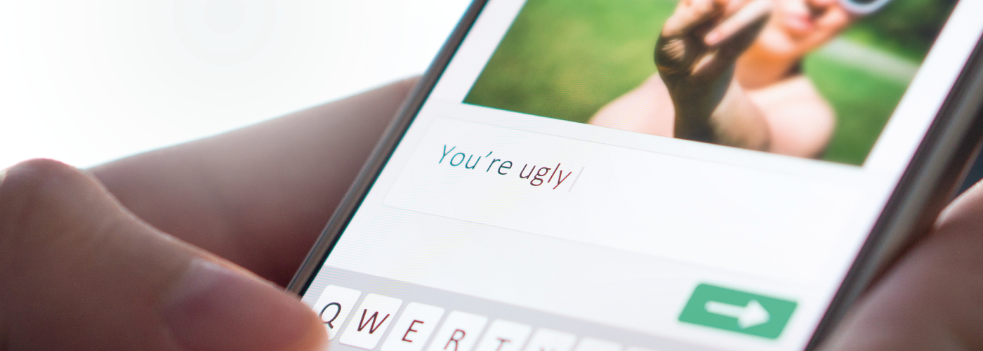Cyberbullying on mobile phone